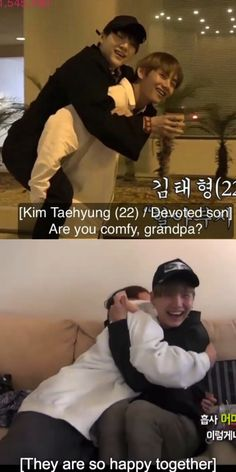 Maknae taking care of Grandpa Suga<<< Omg i remember when they said they didn't normally get along and then after this they were way closer. I just 😊😊😊😊