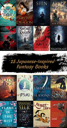 Check out our list of Japanese-Inspired Fantasy Books! Book Club Books, Book Nerd, Book Lists, Good Books, My Books, Teen Romance Books, Fantasy Books To Read, Book Suggestions, Book Recommendations