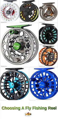Learn about fly fishing reel types: single action, multiplying & automatic fly reels. Drag systems: spring-and-pawl & disc drag. Buy a quality fly reel. Fly Reels, Fishing Reels, Fishing Lures, Fishing Store, Fishing Knots, Fly Fishing Gear, Best Fishing, Fishing Apparel, Fly Casting