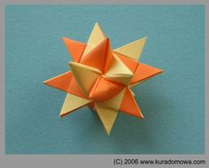 Paper star for Christmas tree