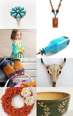 The colors of the West by Bella Kuper on Etsy--Pinned with TreasuryPin.com