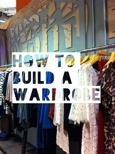 How to Build a Wardrobe Series: Organizing Tips - Fashion Accessories Blogger Elegantly Karinna