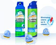 Save $1 off Scrubbing Bubbles