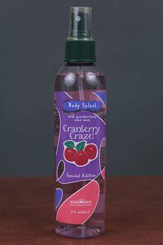 Bath & Body Works Cranberry Craze Splash