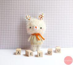 IChiro, mohair teddy bear ^^ #anekka handmade #mohair teddy bears