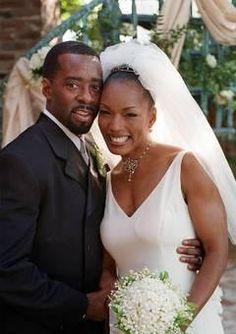 The 1997 wedding of Courtney B. Vance and Angela Bassett