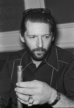 May 1972; Jerry Lee Lewis sports a beard as he tours Europe.
