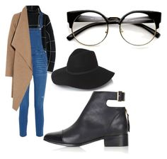 """Casual"" by olliebogdou on Polyvore featuring Chicwish, Rebecca Minkoff, Harris Wharf London and Topshop"