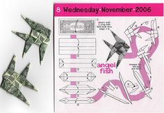 Origami *Angel Fish* by 6SenS, via Flickr