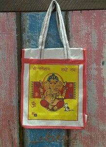 sacola de lona indiana, ecobag, indian bag, handmade, bohobag, Ganesha bag, ecobag indiana (2)