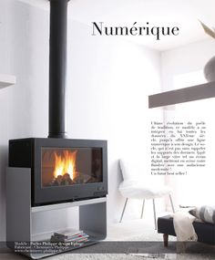 cheminées-philippe.fr design Ephige Open Fireplace, Fireplace Ideas, Fireplace Design, Living Spaces, Living Room, Saint Jean, Home Reno, Wood Burning, Hearth