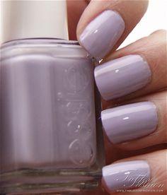 Essie - Lilacism - spring 2014 flattering on all skin tones!