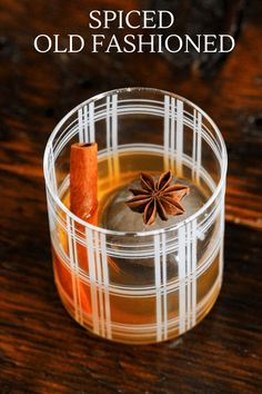 This Spiced Old Fashioned is made with spiced simple syrup. We used cinnamon, star anise and clove in the syrup. With whiskey and bitters, this fall and winter twist on a classic is a winner! #whiskey #cocktails #bitters Best Chocolate, Chocolate Recipes, Whiskey Drinks, Star Anise, Classic Cocktails, Craft Cocktails, Simple Syrup, Tequila, Rum