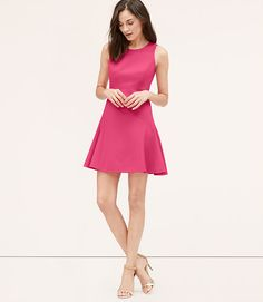 Image of Cutout Back Flare Dress