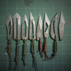 knife making metal Cool Knives, Knives And Tools, Knives And Swords, Bushcraft, Trench Knife, Diy Knife, Armas Ninja, Ninja Weapons, Neck Knife