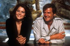 Lois Chiles and Roger Moore as James Bond 007 in Moonraker