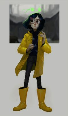 coraline: by nojuro on tumblr