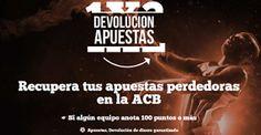el forero jrvm y todos los bonos de deportes: paf recupera 50 euros apuestas perdedoras ACB 12-1...