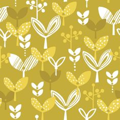 Retro Orchard fabric collection by Wendy Kendall for Dashwood Studio