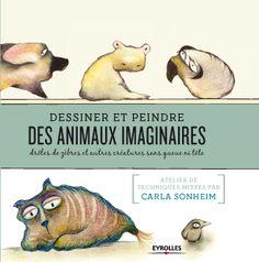 Ce livre, drôle et original, nous apprend à mieux regarder autour de nous pour capturer, dans toutes les formes qui nous entourent les innombrables bêtes – réelles ou imaginaires – qui s'y cachent. Car les animaux sont une source d'inspiration inépuisable et des sujets passionnants à dessiner.  http://www.editions-eyrolles.com/Livre/9782212137040/dessiner-des-animaux-imaginaires