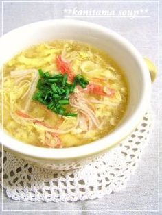 Just Like Kanitama (Japanese-Style Crab Omelette) Fluffy Egg Drop Soup Recipe - Are you ready to cook? Let's try to make Just Like Kanitama (Japanese-Style Crab Omelette) Fluffy Egg Drop Soup in your home! Food Now, I Love Food, Japanese Dinner, Japanese Style, Japanese Food, Crab Eggs, Soup Recipes, Cooking Recipes, Keto Recipes