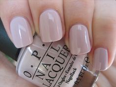 OPI - Steady As She Rose - love this colour especially against my pale skin