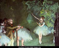 Degas 26.77 inch wide x 21.65 inch high http://www.edgar-degas.org/71624/Ballet-Rehearsal-large.jpg