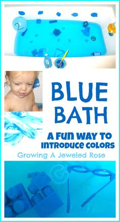 Growing A Jeweled Rose: Color Themed Baths