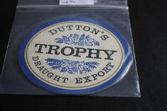 1968 Beermat Duttons (Blackburn) Cat 056 (1X94 8/14)
