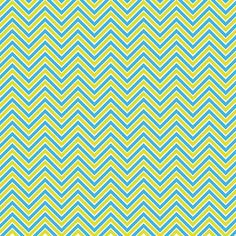 Blue and Yellow Zig Zag
