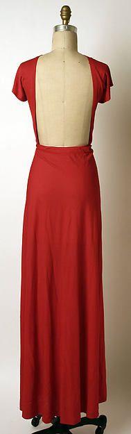Madame Grès (Alix Barton)  (French, Paris 1903–1993 Var region) | Silk Evening Dress, 1970 | Gift of Anne Englehard de la Renta, 1994