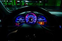 Honda CRZ heads up display