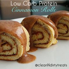 Low Carb Protein Cinnamon Rolls