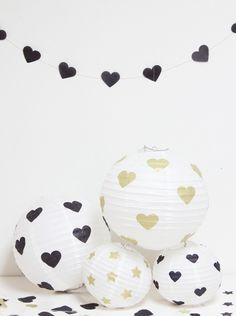 DIY Hearts & Stars Lanterns