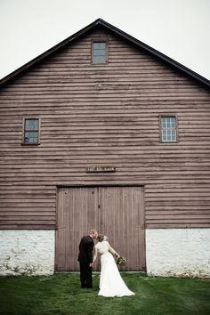 Our reception venue - The Big Barn at Balls Falls Conservation Area