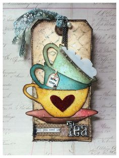 Tim Holtz 12 Tags of 2015 June