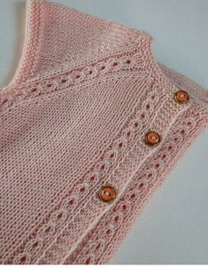 latest-collar-start-hand-knitted-baby-vest-models-m-visible-com-should-start-baby/ - The world's most private search engine Baby Cardigan, Cardigan Bebe, Cardigan Pattern, Baby Knitting Patterns, Knitting For Kids, Easy Knitting, Cute Crochet, Knit Crochet, Knitted Baby