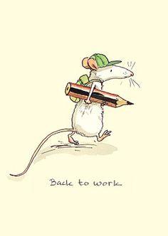 Back to work by Anita Jarem