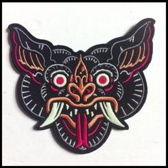 DAGGERS FOR TEETH — NINE LIVES COLLAB PATCH- SHIKAKA!!!