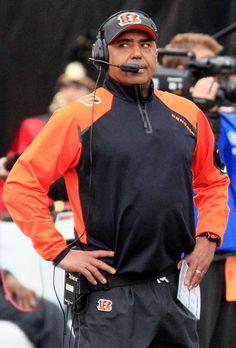 Cincinnati Bengals head coach Marvin Lewis