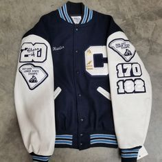 Letter Jackets at Todd & Moore - Todd & Moore Tomboy Fashion, Teen Fashion Outfits, Mode Outfits, Retro Outfits, Cute Casual Outfits, Look Fashion, Varsity Jacket Outfit, Varsity Letterman Jackets, Varsity Jacket High School