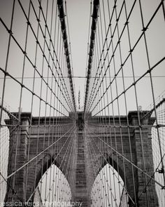 This is a print of the Brooklyn Bridge in New York City. The Brooklyn Bridge is one of my favorite places in the city, with such stunning