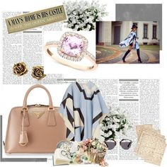 Rycah Fhyna by rosiane-kulmann on Polyvore featuring moda, Prada, Tiffany & Co., Christian Dior and Cultura
