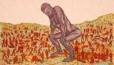 Art Splash: Conrad Botes - The Temptation to Exist - Stevenson Gallery - Cape Town Painting & Drawing, Contemporary Art, Disney Characters, Fictional Characters, Aurora Sleeping Beauty, Illustration Art, Disney Princess, Gallery, Anton