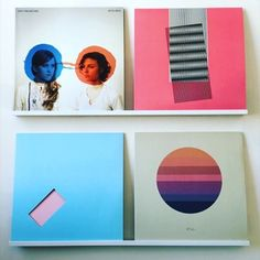 Ideally overcast: Dirty Projectors, Bitte Orca, Layout by Rob Carmichael, Seen,  Hot Chip, Why Make Sense? artwork by Nick Relph, Jamie XX, Girl, Art work by Jamie Smith, Tycho, Awake, artwork by Scott Hansen