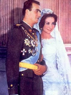 Prince Juan Carlos of Spain & Princess Sofia of Greece 1962 - The Royal Forums
