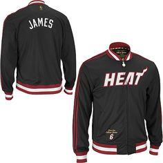 adidas Miami Heat NBA LeBron James Legendary Track Jacket