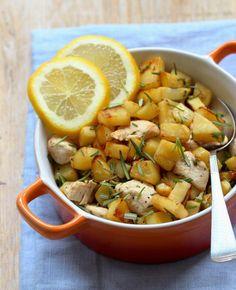 Honingkip met zoete aardappel | Knoflook weglaten voor fodmappers