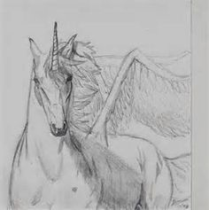 how to draw a realistic unicorn step by step