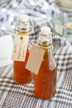 Toasted Marshmallow Syrup: This homemade simple syrup adds delicious toasty…